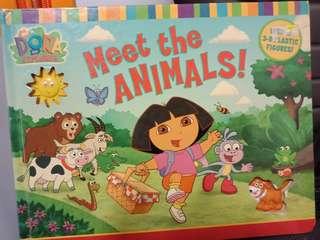 Dora the explorer and Peppa Pig story books