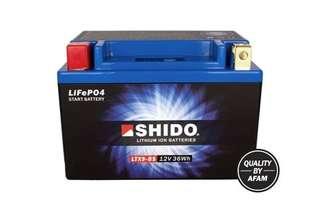 Shido lithium battery ytz10s