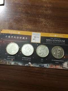 Old coin(千禧年纪念珍藏币)