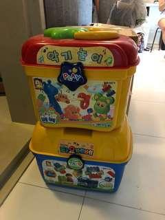 Tayo Bus Korea LEGO Set x 2