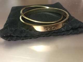 CK 玫瑰金手環