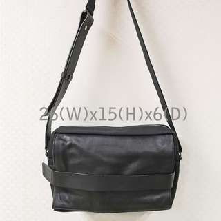 Y'SACCS 皮革布料 Shoulder Bag Made in Japan