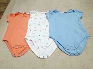 (3pcs) Zara Baby Original Rompers
