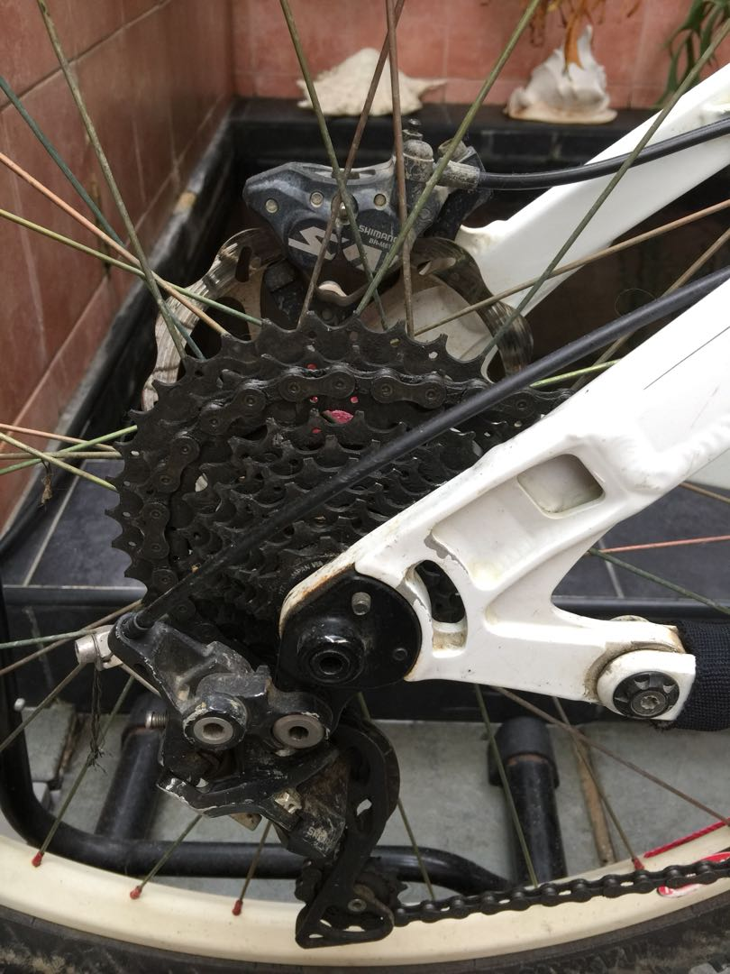 2013 Knolly Chilcotin (medium size frame) AM all mountain bike white ...