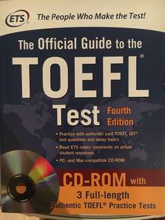 TOEFL Test Book- 4th edition