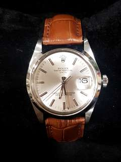 Rolex Perpetual Date 15000 Automatic Watch 34mm