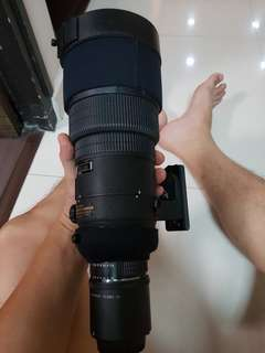 Nikon Sigma Lens 300mm