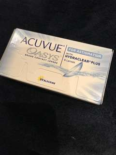 ACUVUE OASYS 2 WEEKS 6 LENSES 525度(175散光)