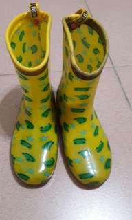 🚚 小青蛙童雨鞋