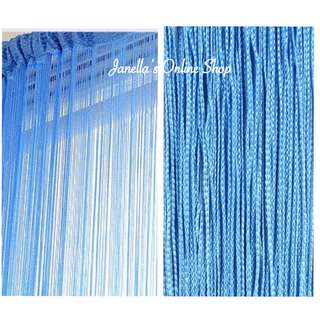 Metallic String Curtain