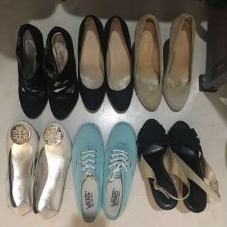 Shoes Nine West/Charles & Keith/Country Road/Vans/Itti & Otto