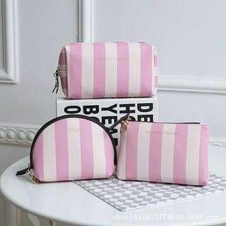 Victoria's Secret Stripe Edition Pouch
