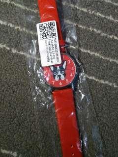 Jam tangan cihuahua red