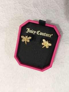 Juicy Couture 蜻蜓閃石耳環