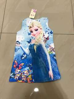 Elsa frozen Dress New