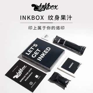 Semi Perm Ink box Tattoo , waterproof, can last for 15Days