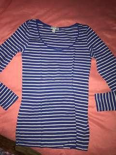 Cotton On Long Sleeve Stripe