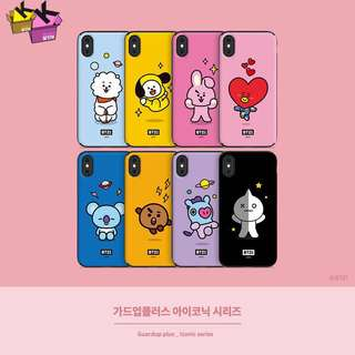 BT21 手機殼 bts cooky tata rj shooky chimmy cooky koya phome case 防彈 防彈少年團 42cm 32cm 42 32 iphone 6 7 8 x plus