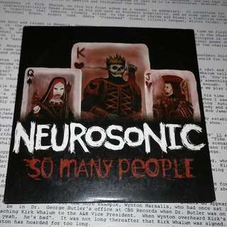 NEUROSONIC - SO MANY PEOPLE SINGLE CD