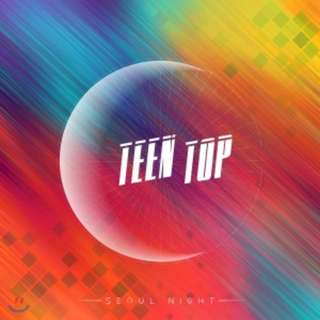 <<代購>>Teen Top - Seoul Night (A/B Ver.)