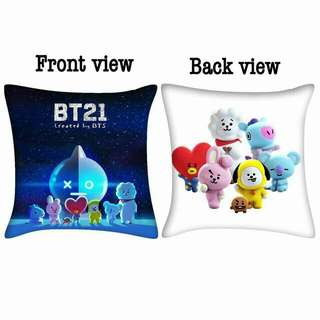 BTS BT21 PILLOW