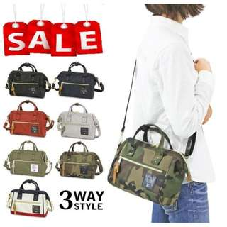 Anello 3 Way Boston Bag