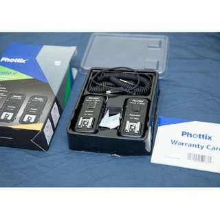 Nikon phottix strato II觸發器(支援機頂閃燈TTL)