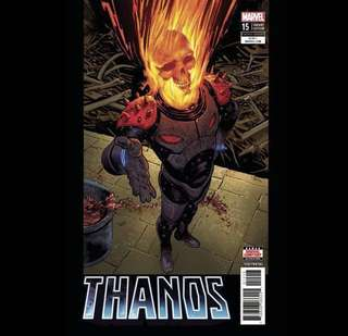 THANOS #15 (2018) Cosmic Ghost Rider Variant