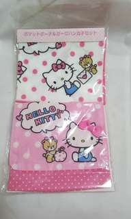 Hello Kitty Pouch with Handkerchief