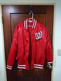 🚚 MLB國民隊棒球外套