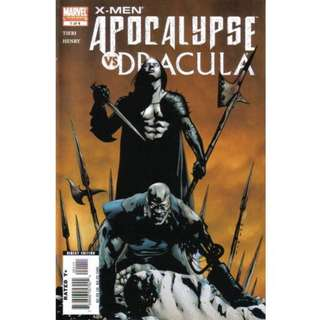 X-MEN: APOCALYPSE VS DRACULA #1-4 (2006) Mini-series complete