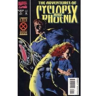 ADVENTURES of CYCLOPS & PHOENIX #1-4 (199) Mini-series complete