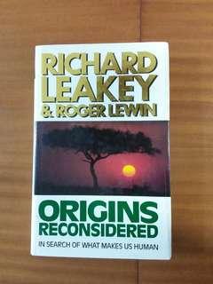Origins reconsidered by R Leakey