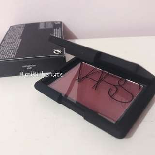(包郵)Nars blush cheek rouge 胭脂 #Seduction