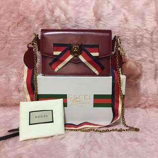 🔥 Gucci broadway embellished leather shoulder bag🔥