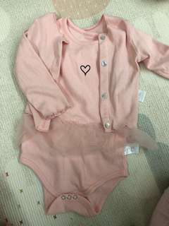 Baby Romper - 2pcs set with cardigan