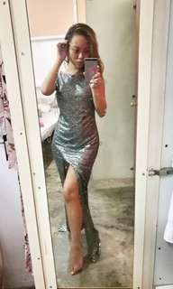 THE DECADENCE Sequin Dress
