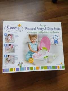 Reward Potty & Step Stool
