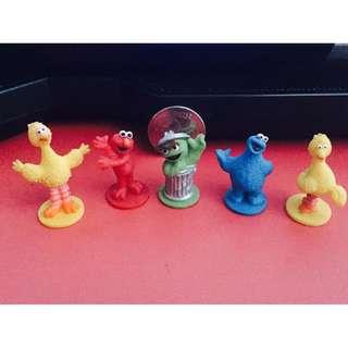 Sesame Street Miniature Figures