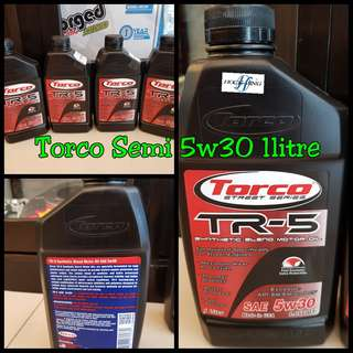 Torco 5w30 Semi Syn 1L Engine Oil