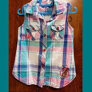 Polo Sleeveless Shirt