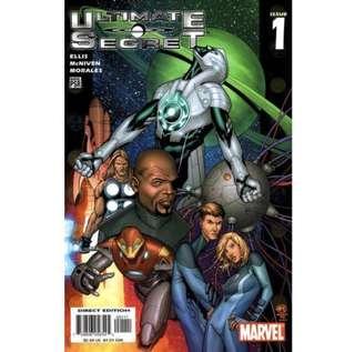 ULTIMATE SECRET #1-4 (2005) Mini-series Complete set