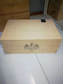 Brand new Wooden Wine Crates/ boxes