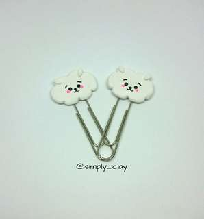 RJ bookmark/paperclip