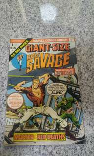 Bronze Age Giant Size Dr Savage #1