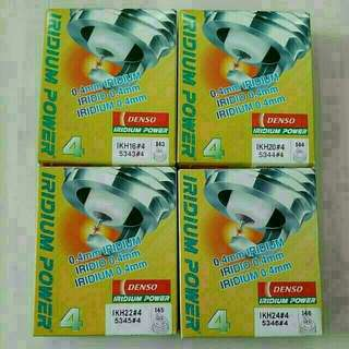 Brand New Denso Iridium Spark Plug for sale  Set of 4 per box  IK16 / IK20 / IK22 / IK24 / IKH16 / IKH20 / IKH22 / IKH24 / IK16L / IK20L / IK22G / IXU22 / IXU27 / IXUH22 / IXUH22I / IT20 / ITV16