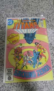 New Teen Titans - 2nd Appearance of Deathstroke!
