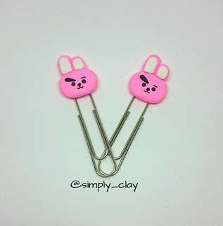 Cooky bookmark/ paperclip