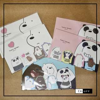 We bare bears bookmarks! 😁