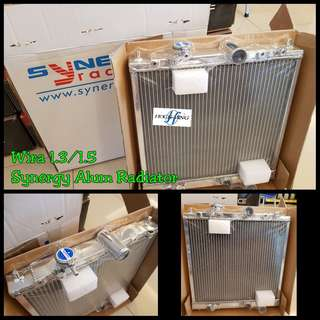 Wira 1.3 1.5 Synergy 2layer Alum Radiator